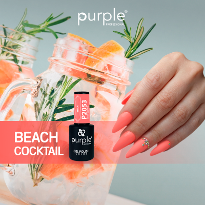 Verniz Gel PURPLE P2053 – Beach Cocktail