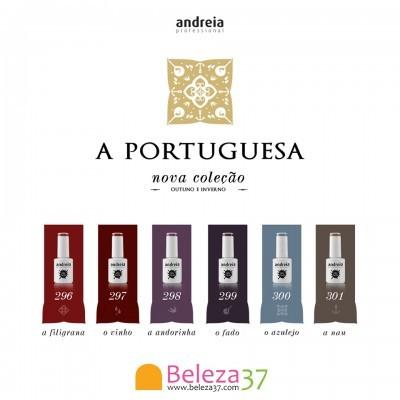 """Verniz Gel Andreia – 6 Cores da Coleção """"A Portuguesa"""""""