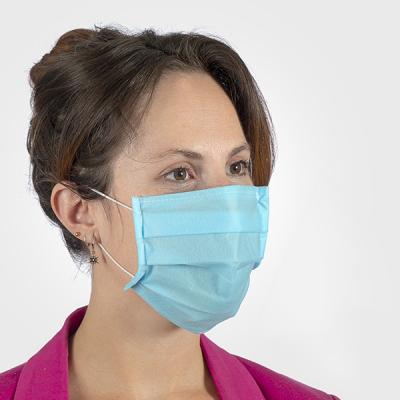 Máscara de Proteção Respiratória Cirúrgica Azul (ENVIO PREVISTO A 16/4)