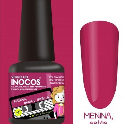 Verniz Gel Inocos – Menina, Estás à Janela (Rosa Framboesa)