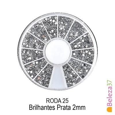 RODA 25 – Brilhantes Prata 2mm