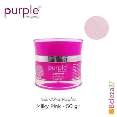 Gel Construtor Purple Milky Pink – Rosa Leitoso 50g