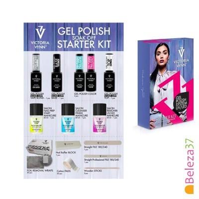STARTER KIT Victoria Vynn - Kit de Iniciação ao Verniz Gel