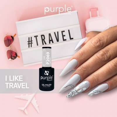 Verniz Gel PURPLE P2069 – I Like Travel