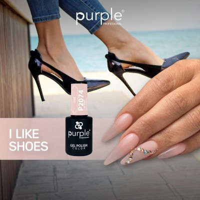 Verniz Gel PURPLE P2074 – I Like Shoes