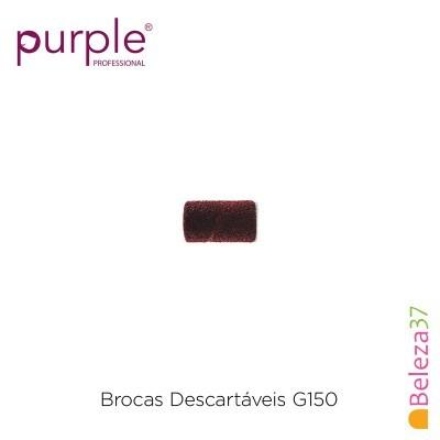 Brocas Descartáveis PURPLE Grão 150 - 100 unidades