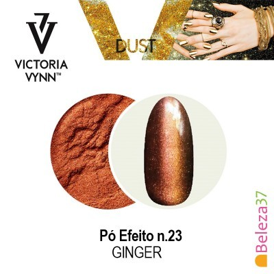 Pó Efeito Victoria Vynn n.23 Ginger (Gengibre)
