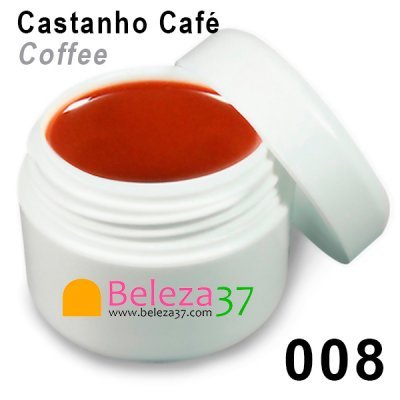 Gel de Cor 008 – Castanho Café (Coffee)