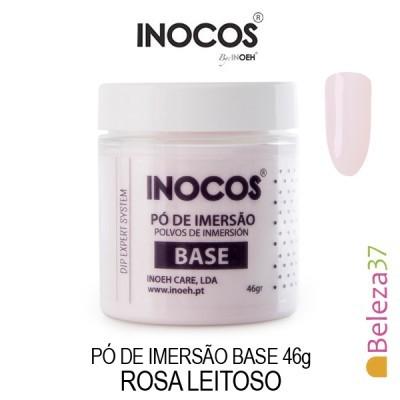 Pó de Imersão Inocos - Base 46g - Rosa Leitoso