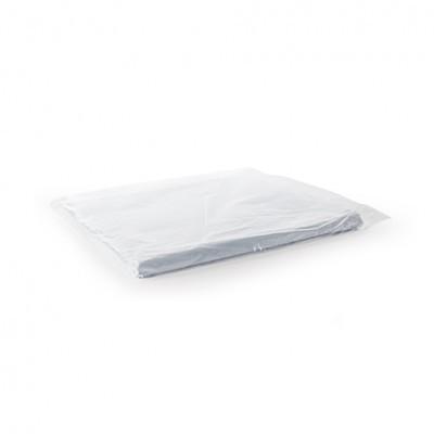 Capas Plásticas de Cabeleireiro Descartáveis BIFULL Brancas 80x110cm - 50 unidades