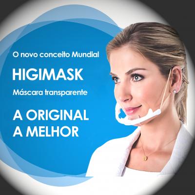 Máscara de Proteção Higimask Vermelha