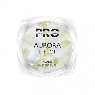 Pigmento Aurora Flake Constance Carroll - Deep Blue/Voilet 04