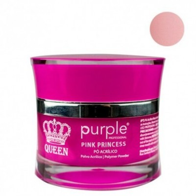 Pó Acrílico Purple Queen 30g - Pink Princess
