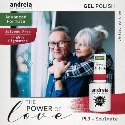 Verniz Gel Andreia – Soulmate PL 3 (Vermelho Coração)