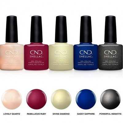 CND Shellac – Crystal Alchemy Collection (5 Cores)