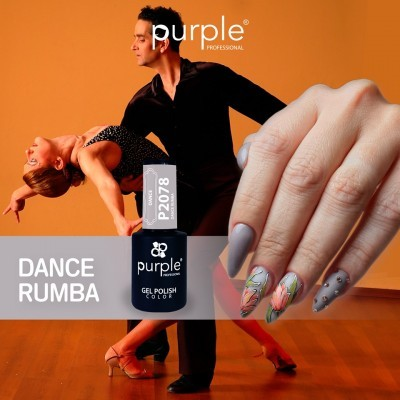 Verniz Gel PURPLE P2078 – Dance Rumba