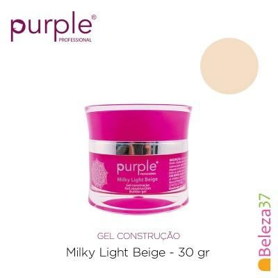 Gel Construtor Purple Milky Light Beige – Beige Claro Leitoso 30g