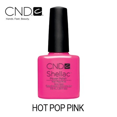 CND Shellac – Hot Pop Pink 91985 (40519)