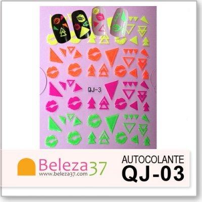 Autocolantes Neon 3D QJ-03