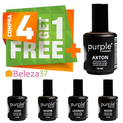Verniz Gel PURPLE: COMPRA 4, LEVA 5