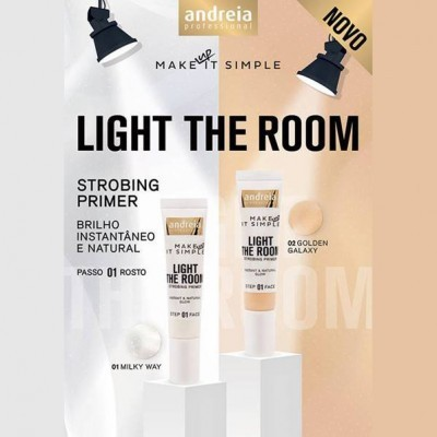 Andreia Face 1 - LIGHT THE ROOM - Strobing Primer