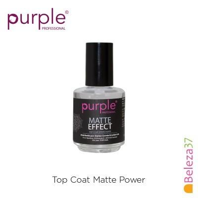PURPLE – Matte Power Top Coat 15ml