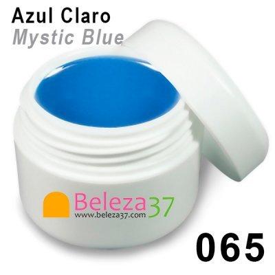 GEL DE COR 065 – Azul Claro (Mystic Blue)