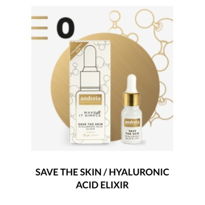 Andreia Face 0 - SAVE THE SKIN - Hyaluronic Acid Elixir