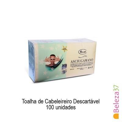 Toalha de Cabeleireiro Descartável 45x80cm –100 unidades