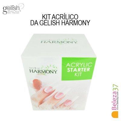 Kit Acrílico da Gelish Harmony