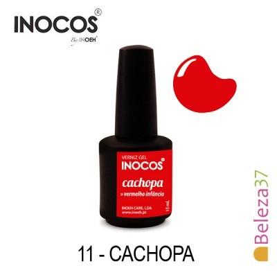 Verniz Gel Inocos 11 — Cachopa (Vermelho)
