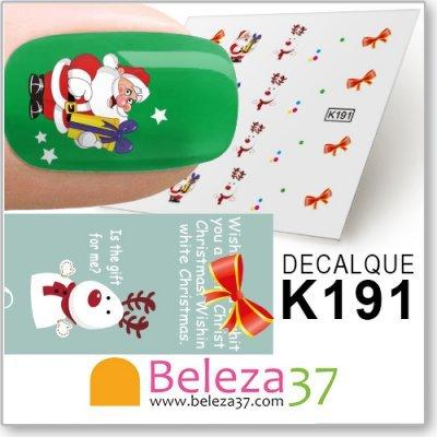 Decalques com Motivos de Natal (K191)
