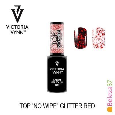 """Victoria Vynn – Top """"No Wipe"""" Glitter Red (Vermelho)"""