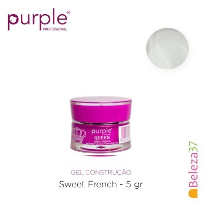 Gel Construtor Purple Queen Sweet French – Branco Francesa 5g (P917)