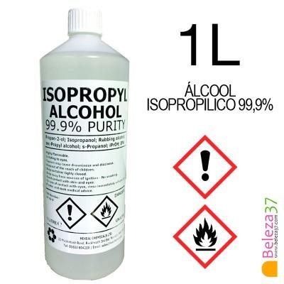 Álcool Isopropílico 99,9% (IPA) - 1 litro