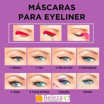 Máscaras para Eyeliner