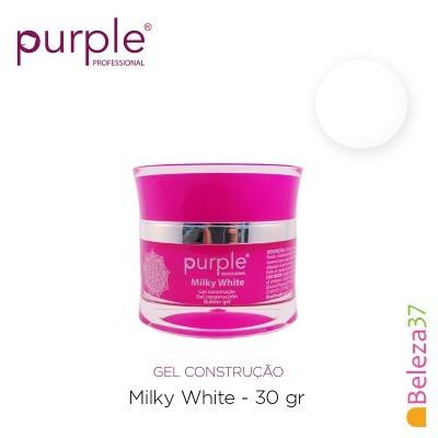 GEL CONSTRUTOR PURPLE MILKY WHITE – BRANCO LEITOSO 30G