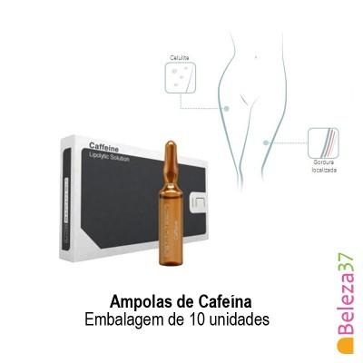Ampolas de Cafeína - Embalagem de 10 unidades