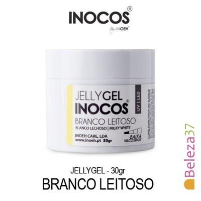Jellygel Inocos - Gel Construção Branco Leitoso 30g