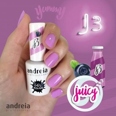 Verniz Gel Andreia J3 - Lilás Néon Pastel