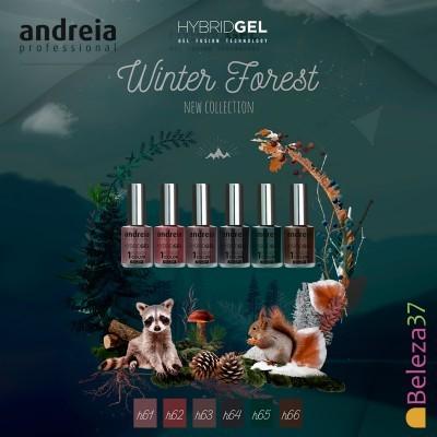 """HYBRID GEL ANDREIA – 6 Cores da Coleção """"WINTER FOREST"""""""