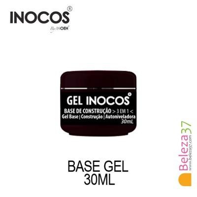 Gel Inocos — Base Construção 3 em 1 — 30ml