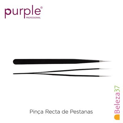 Pinça Recta de Pestanas PURPLE