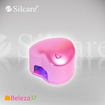 Catalisador LED Portátil em Coração Rosa