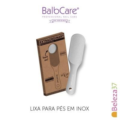BrazzCare BalbCare Lixa para Pés em Inox