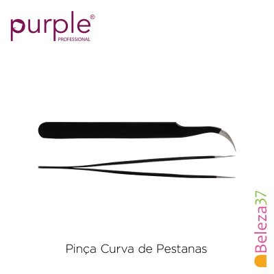 Pinça Curva de Pestanas PURPLE