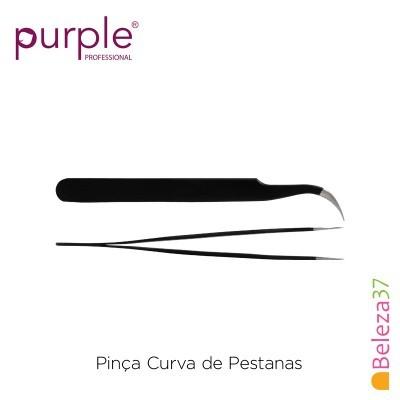 Pinça Curva de Pestanas PURPLE