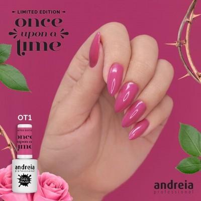 Verniz Gel Andreia OT1 – Bela Adormecida: Rosa