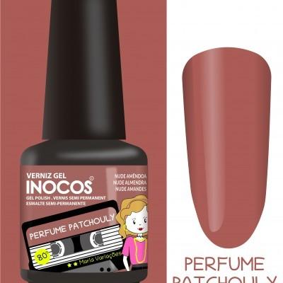 Verniz Gel Inocos – 207 - Perfume Patckouly (Nude Amêndoa)