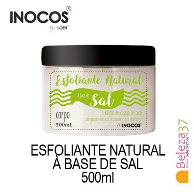 Esfoliante Natural Inocos à Base de Sal 500ml